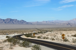 california-state-route-at-the-intersection-with-state-route-one-of-the-most-desolate-stretches-of-h--34091